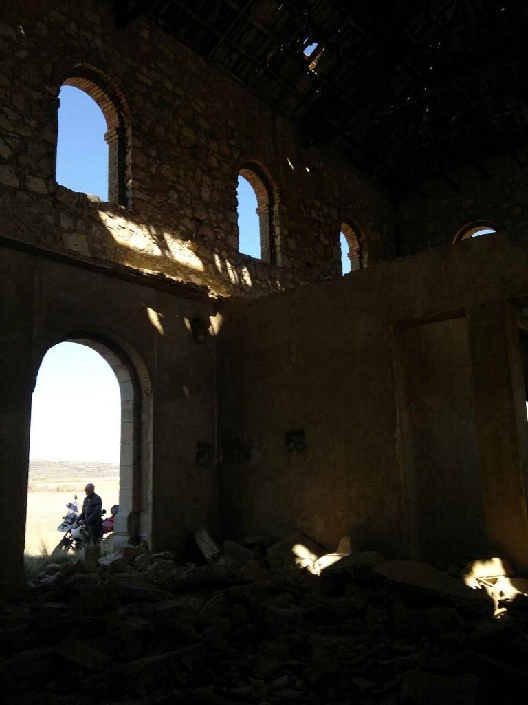 Estación abandonada de Utrillas